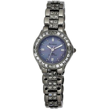 Armitron Women's Dress Gray Round Watch