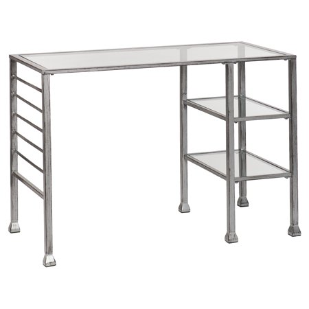 Southern Enterprises Metal and Glass Writing (Best Southern Enterprises Glass Desks)