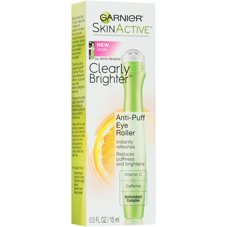 SkinActive Clearly Brighter Anti-Puff Eye Roller, 0.5 fl. oz.