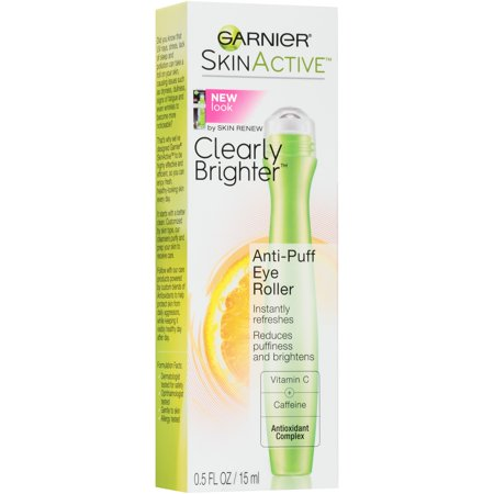 Garnier SkinActive Clearly Brighter Anti-Puff Eye Roller, 0.5 fl.