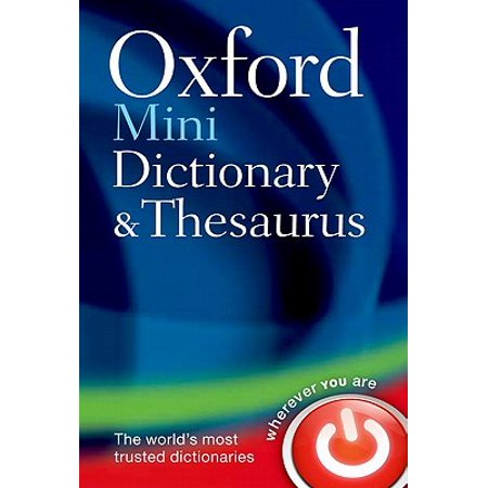 Oxford Mini Dictionary and -