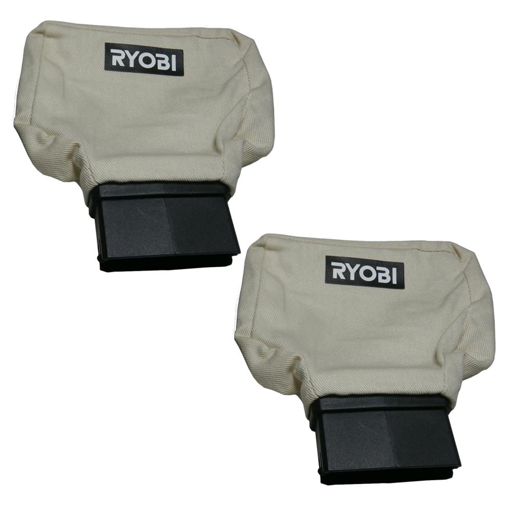 Ryobi P611 Genuine OEM Replacement Dust Bag # 019700001103