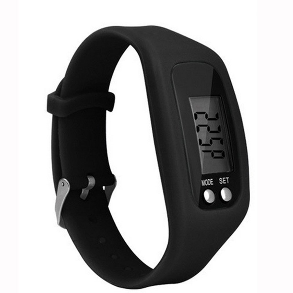 Multifunction Smart Bracelet Pedometer Activity Tracker 5 Digit Led Display Outdoor Sport Wristband Health Watch For S
