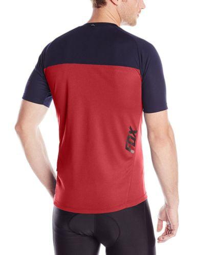 Fox Ranger Cycling Short Sleeve Mountain Bike Mtb Cycling Jersey Red Small New