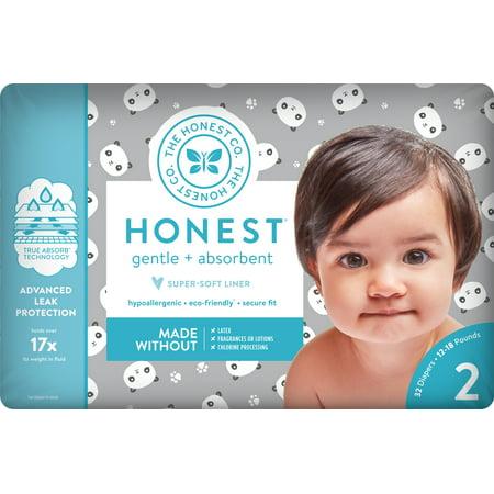Hornet Auto - The Honest Company Diapers Pandas Size 2
