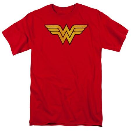 Halloween Party Logo (Dc - Wonder Woman Logo Dist - Short Sleeve Shirt -)