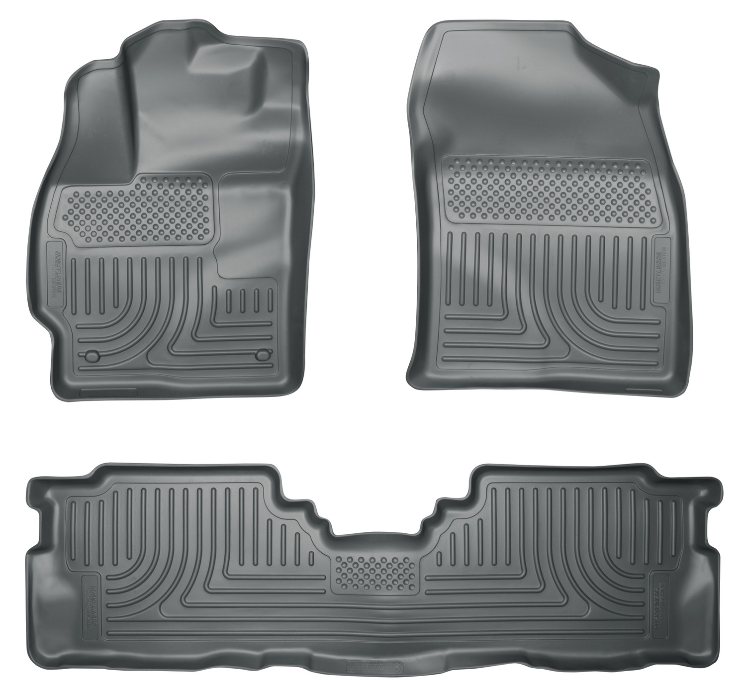 Husky Liners Front & 2nd Seat Floor Liners Fits 12-17 Prius V