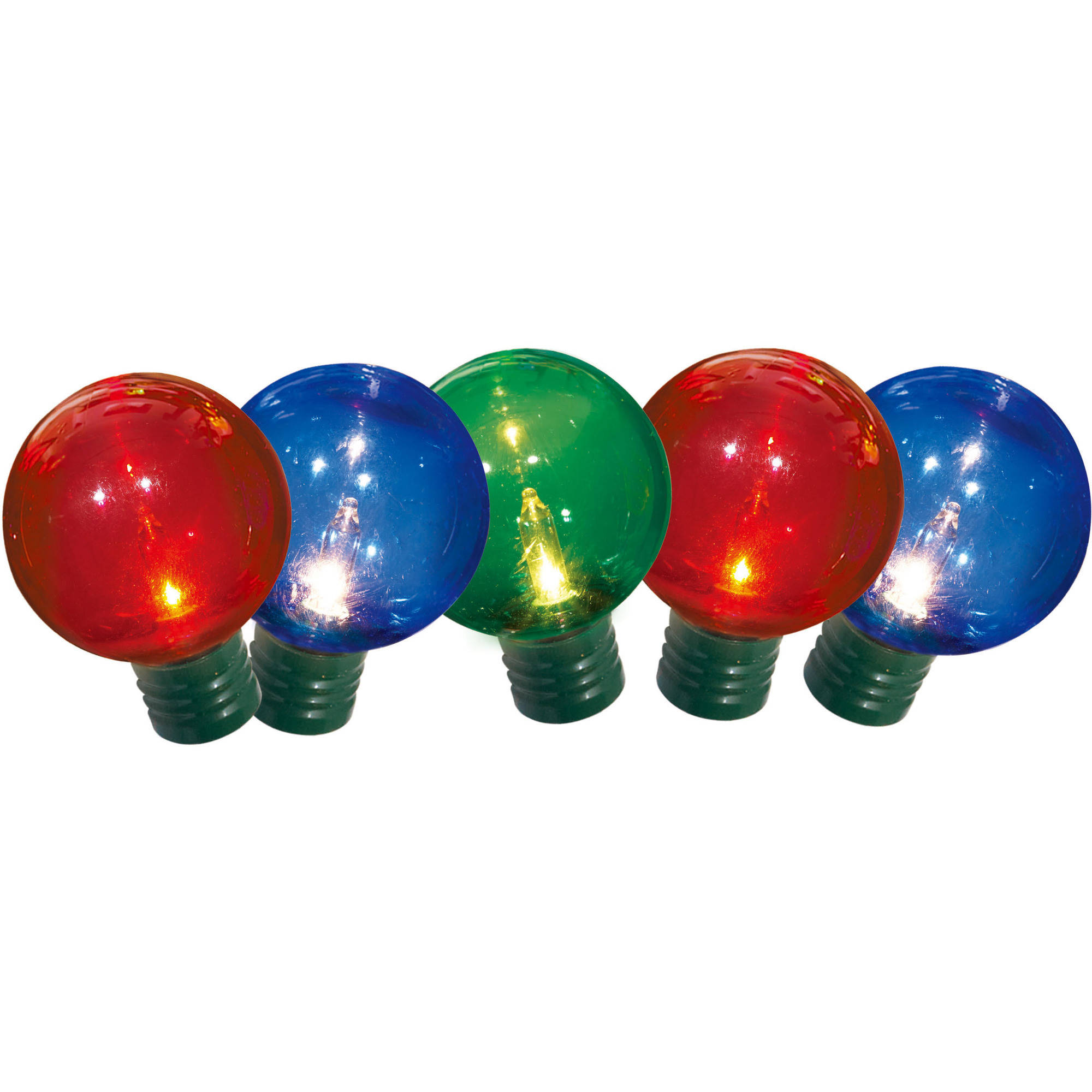 Holiday Time Pet G40 16 Function Christmas Lights Multi, 60 Count ...