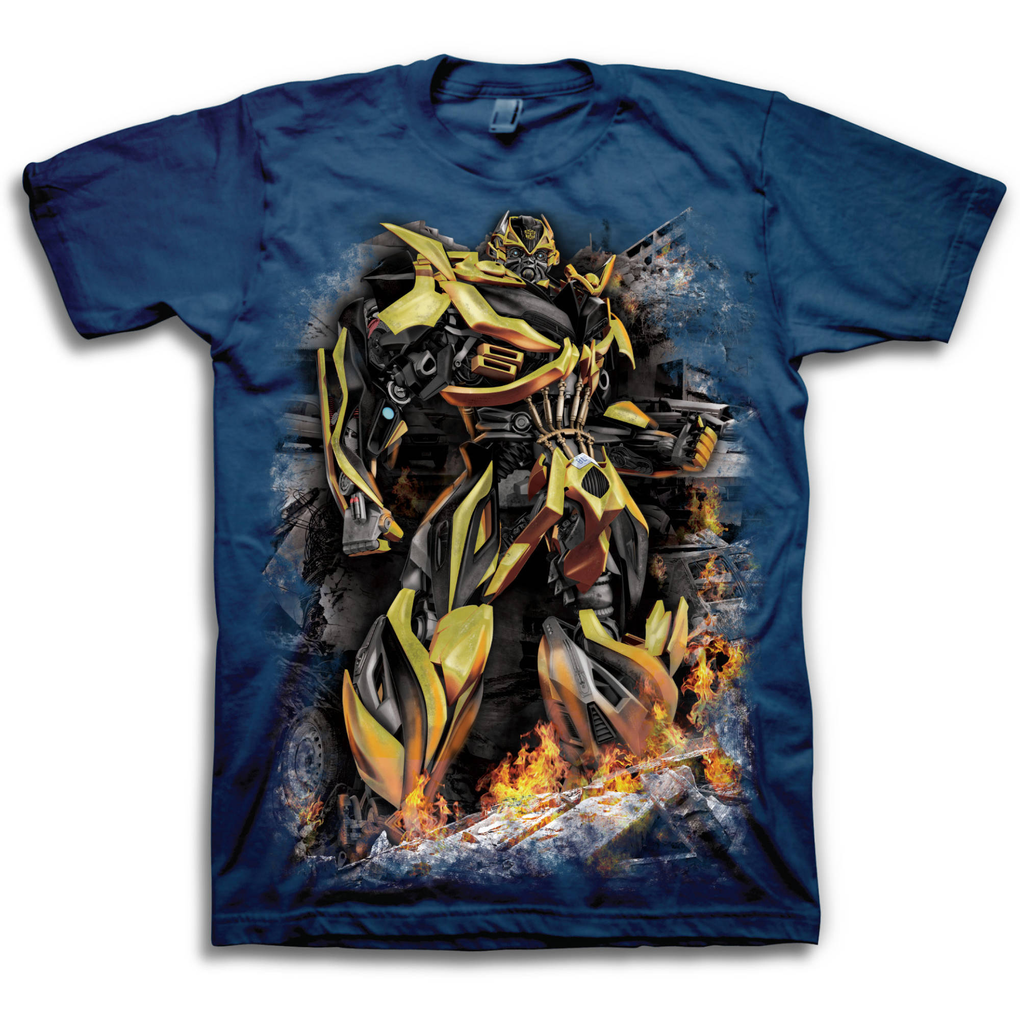 Transformers Bumble Bee Men's Short Sleeve T-shirt