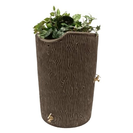 Impressions 90-Gallon Bark Rain Saver, Oak ()
