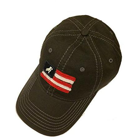 Mack Trucks Bulldog Charcoal Gray USA Flag Cap/Hat](Mack Truck Hats)