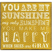 "You Are My Sunshine Post Bound Scrapbook, 12"" x 12"""