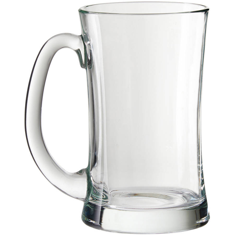 Malt Beer Mugs, 20 oz, Set of 4