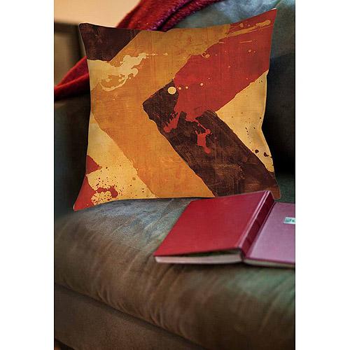 IDG Splatter No I Red Indoor Pillow