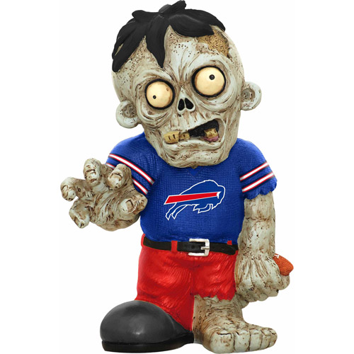 Forever Collectibles NFL Resin Zombie Figurine, Buffalo Bills