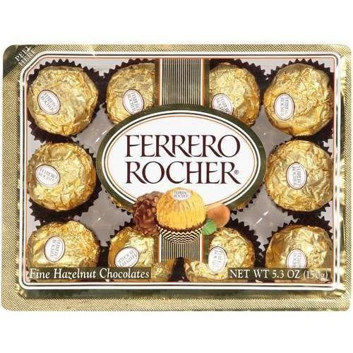 Ferrero Rocher® Fine Hazelnut Chocolates 5.3 oz. Pack