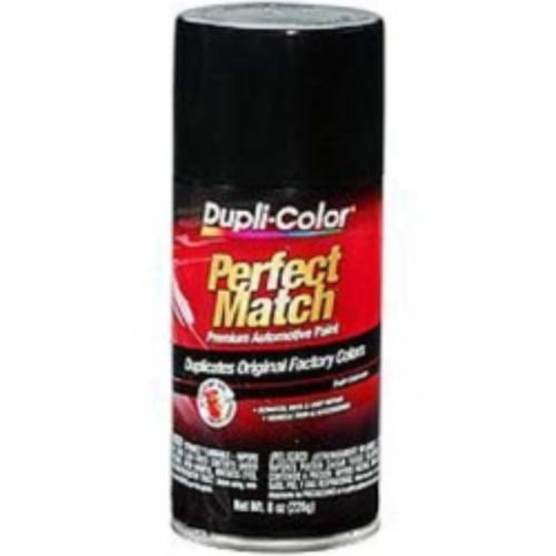 Krylon BUN0100 Perfect Match Automotive Paint, Universal Black, 8 Oz Aerosal Can