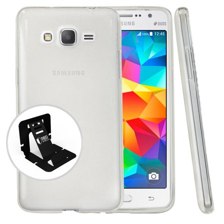 Samsung Galaxy Grand Prime Case, REDshield [Clear] Slim & Flexible Anti-shock Crystal Silicone Protective TPU Gel Skin Case Cover