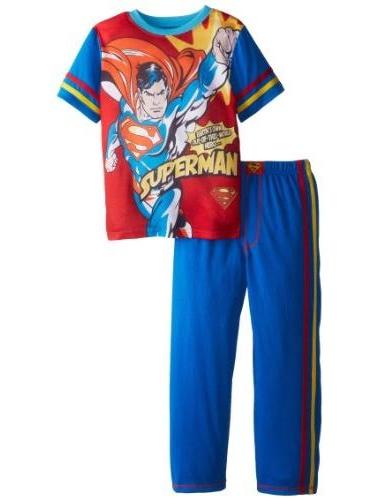 SGI Apparel Group Big Boys' Superman Comic Style Pajama