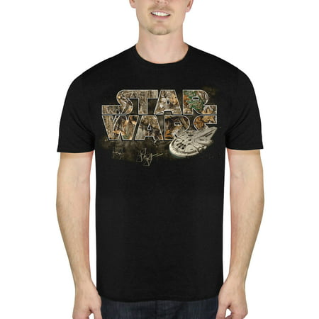 Solo: A Star Wars Story Men's Falcon Battle Short Sleeve Graphic T-Shirt, up to Size - Good Ideas Halloween Short Story
