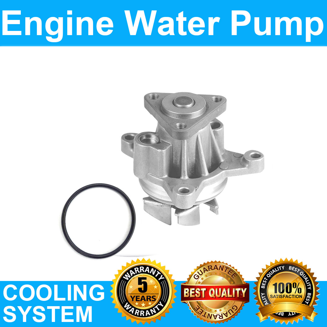 Engine Water Pump For   Ford Edge Ll   Ford
