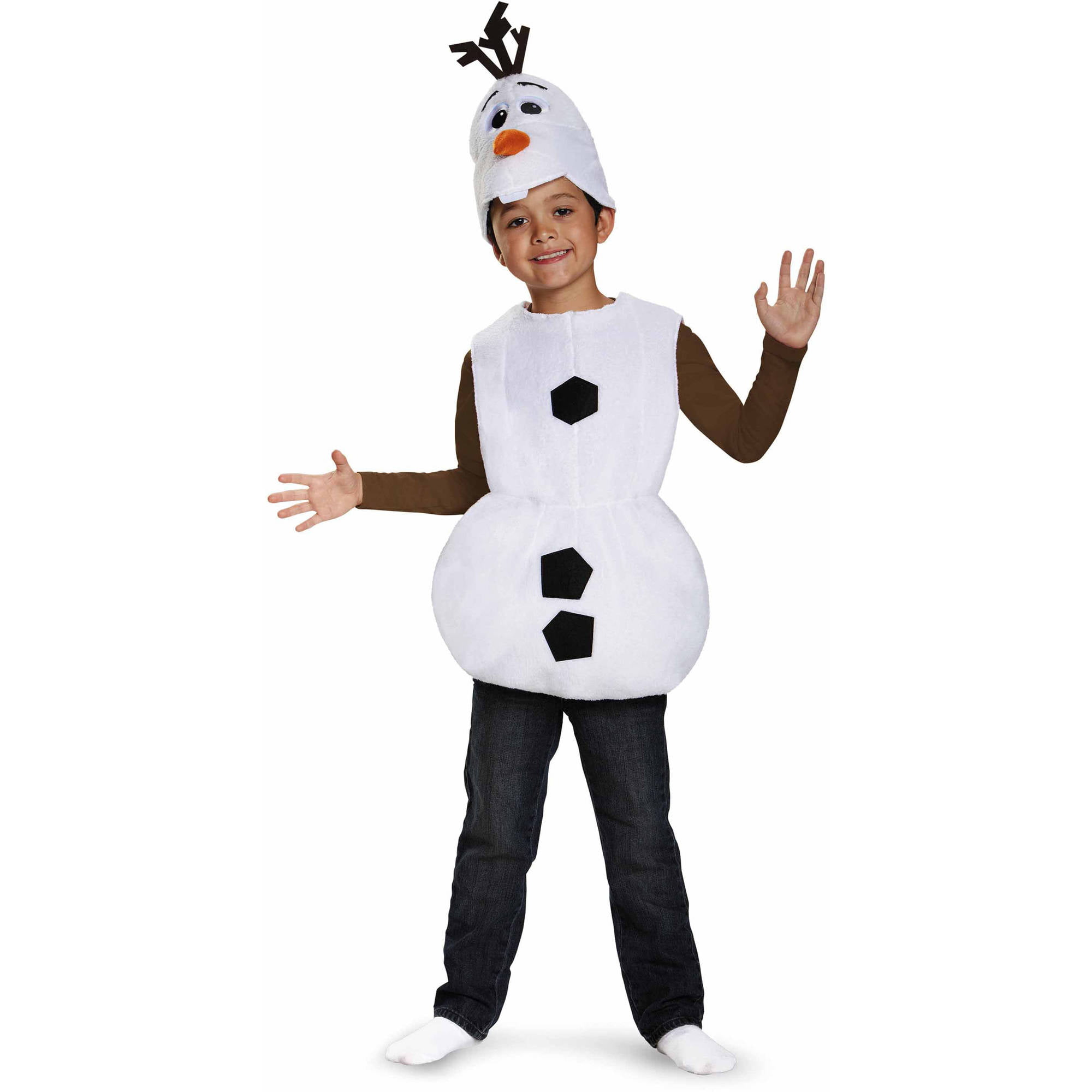 Frozen Olaf Basic Child Halloween Dress Up / Role Play Costume - Walmart.com  sc 1 st  Walmart : olaf costume for boys  - Germanpascual.Com