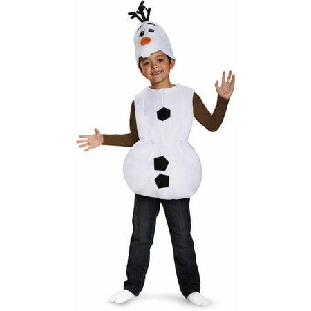 fd25387bfa0e Frozen Olaf Basic Child Halloween Dress Up / Role Play Costume - Walmart.com