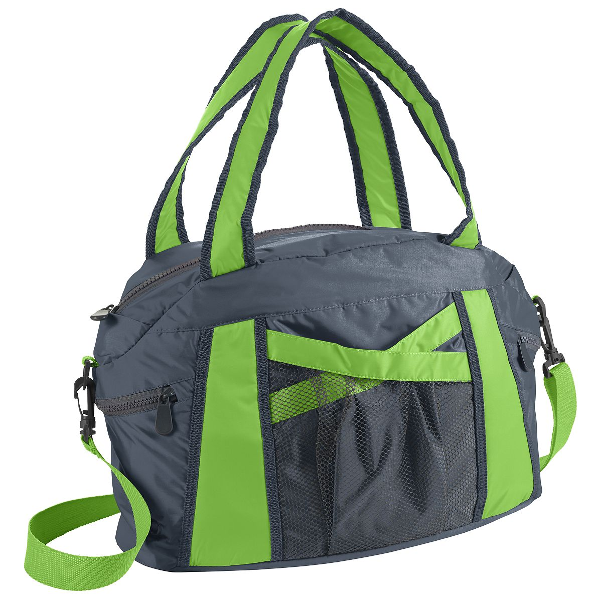 1145 Cruise Duffel GRAPHITE/LIME OS