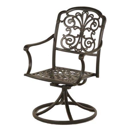 Fleur De Lis Living Merlyn Swivel Rocking Chair (Set of 2) ()