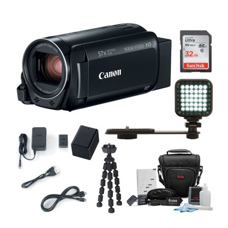 Canon VIXIA HF R800 Camcorder (Black) with 32GB Supreme Bundle ()