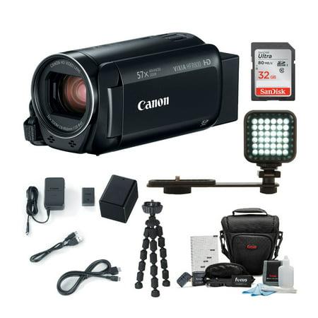 Canon VIXIA HF R800 Camcorder (Black) with 32GB Supreme (Canon Vixia Hf R800 Vs Sony Cx405)