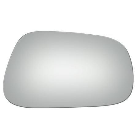 Geo Tracker Manual Mirror (Burco 3130 Right Side Manual Mirror Glass for Geo Prizm, Toyota Corolla )