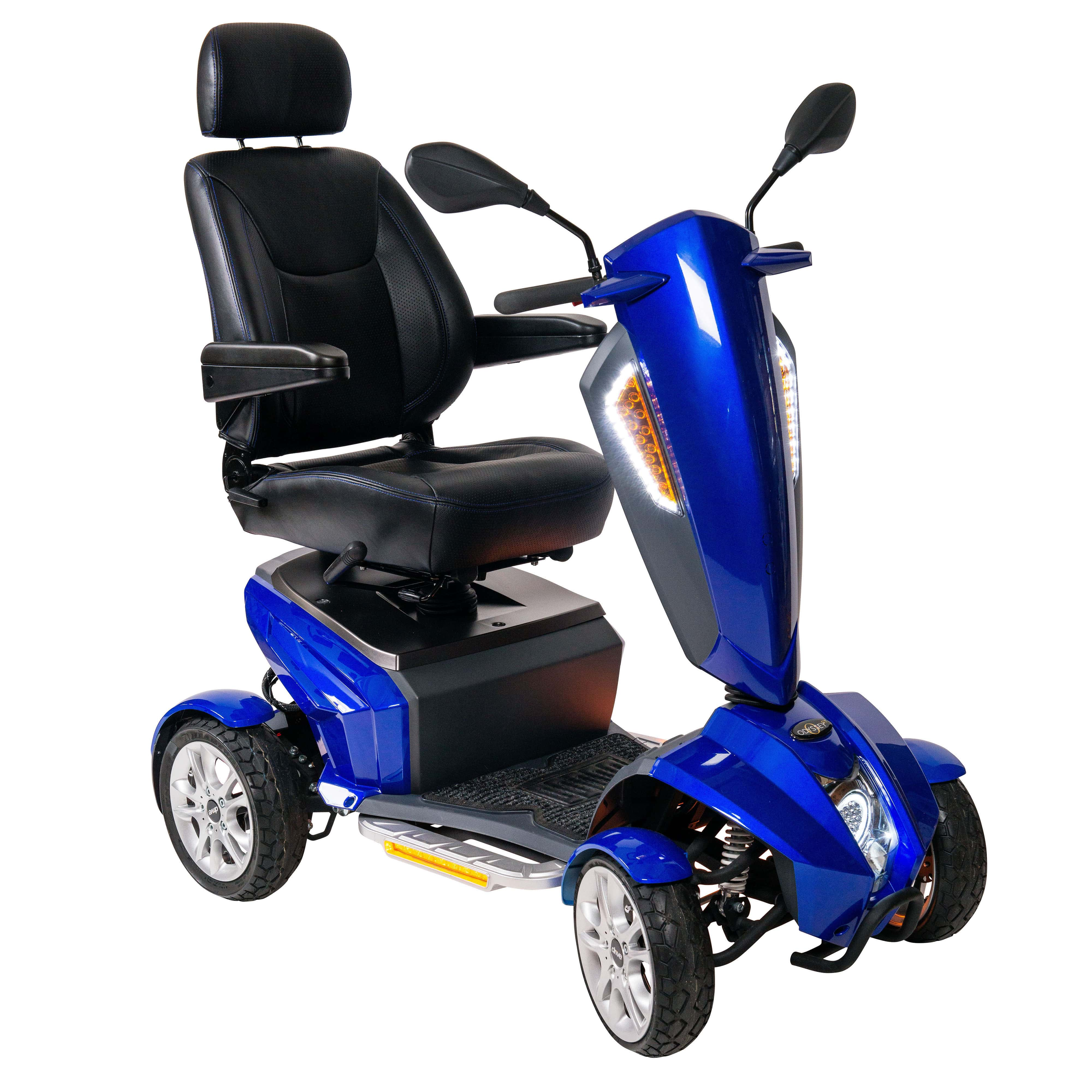 "Drive Medical Odyssey GT Executive Power Mobility Scooter, 18"" Captain's Seat"