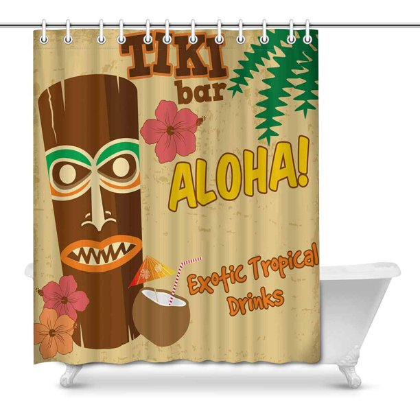 Hawaiian Aloha Exotic Tropical Drinks