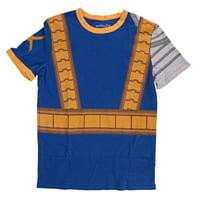 Marvel X-Men I Am Retro Cable Mens Blue T-Shirt   M