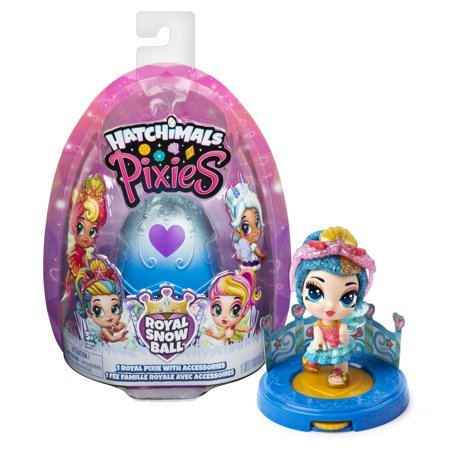 Hatchimals, Pixies Royals, 2.5-Inch Collectible Doll and Accessories (Styles May Vary), for Kids Aged 5 and Up