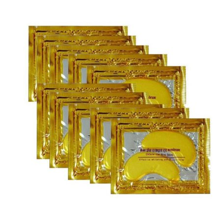40 Pcs 24K Gold Crystal Collagen Eye Mask Dark Circle Eye Bags Patches