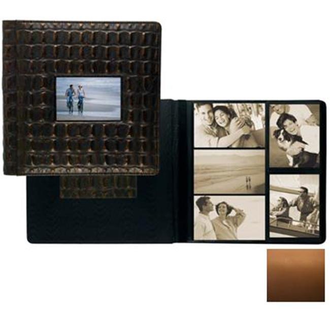 Raika SF 113-D TAN Frame Front Scrap Book Album - Tan