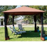 10\' x 12\' Outdoor Backyard Regency Patio Canopy Gazebo Tent, with ...