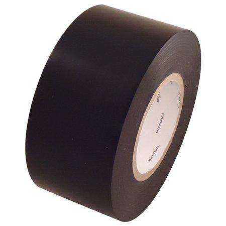 Black 9 mil Low Density Polyethylene Film Tape 3 inch x 60 -