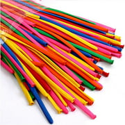 Pack of 200 Mixed-Color Latex Twisting Magic Long Balloons for Animal Shape Party, Birthdays, Weddings Decorations