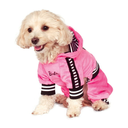 Weiner Dogs In Halloween Costumes (Barbie Sporty Girl Pet Pink Track Suit Dog Cat Halloween)