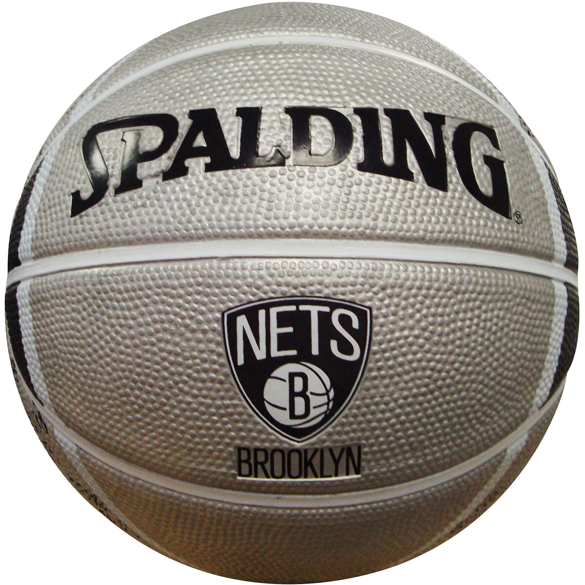 "Spalding NBA 7"" Mini Basketball, Brooklyn Nets by Spalding"