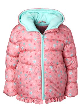 Wippette Baby Toddler Girl Star Print Winter Jacket Coat