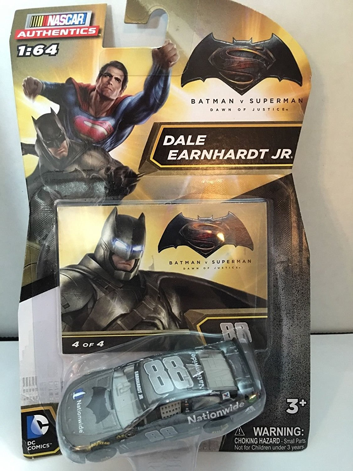 2016 Authentics 1 64 1:64 Batman vs Superman: Dawn of Justice Dale Earnhardt Jr #88 Batman... by