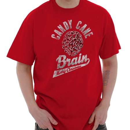 Candy Cane Brain Merry Christmas Presents T Shirt Tee](Candy Cane Top)