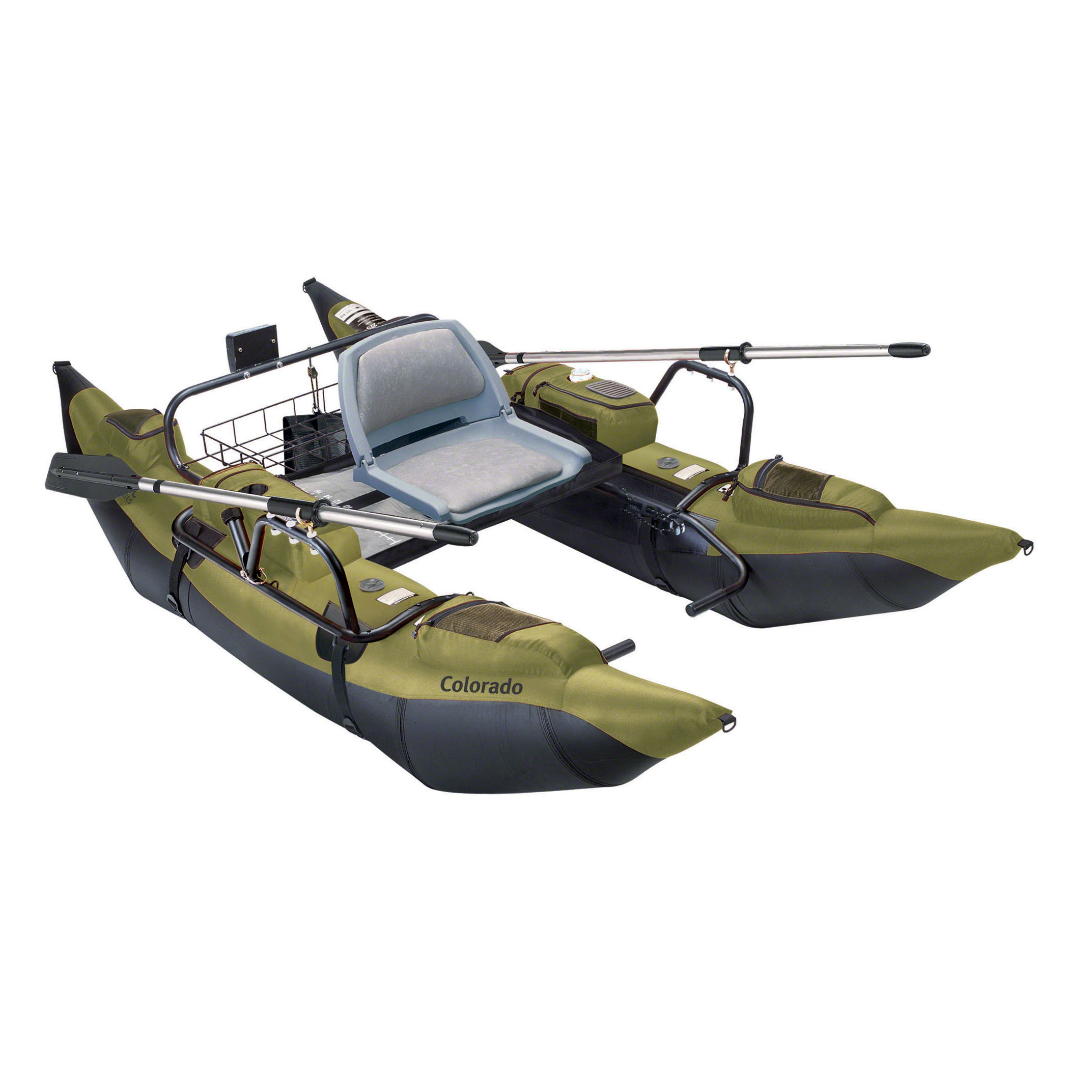 Click here to buy Classic Accessories Colorado Pontoon Fishing Boat by Classic Accessories.