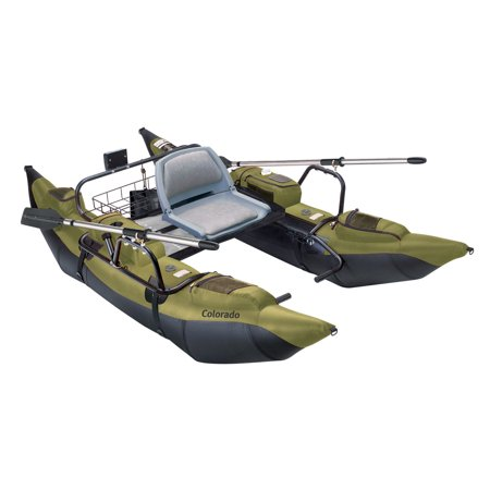 Classic Accessories Colorado Pontoon Fishing Boat