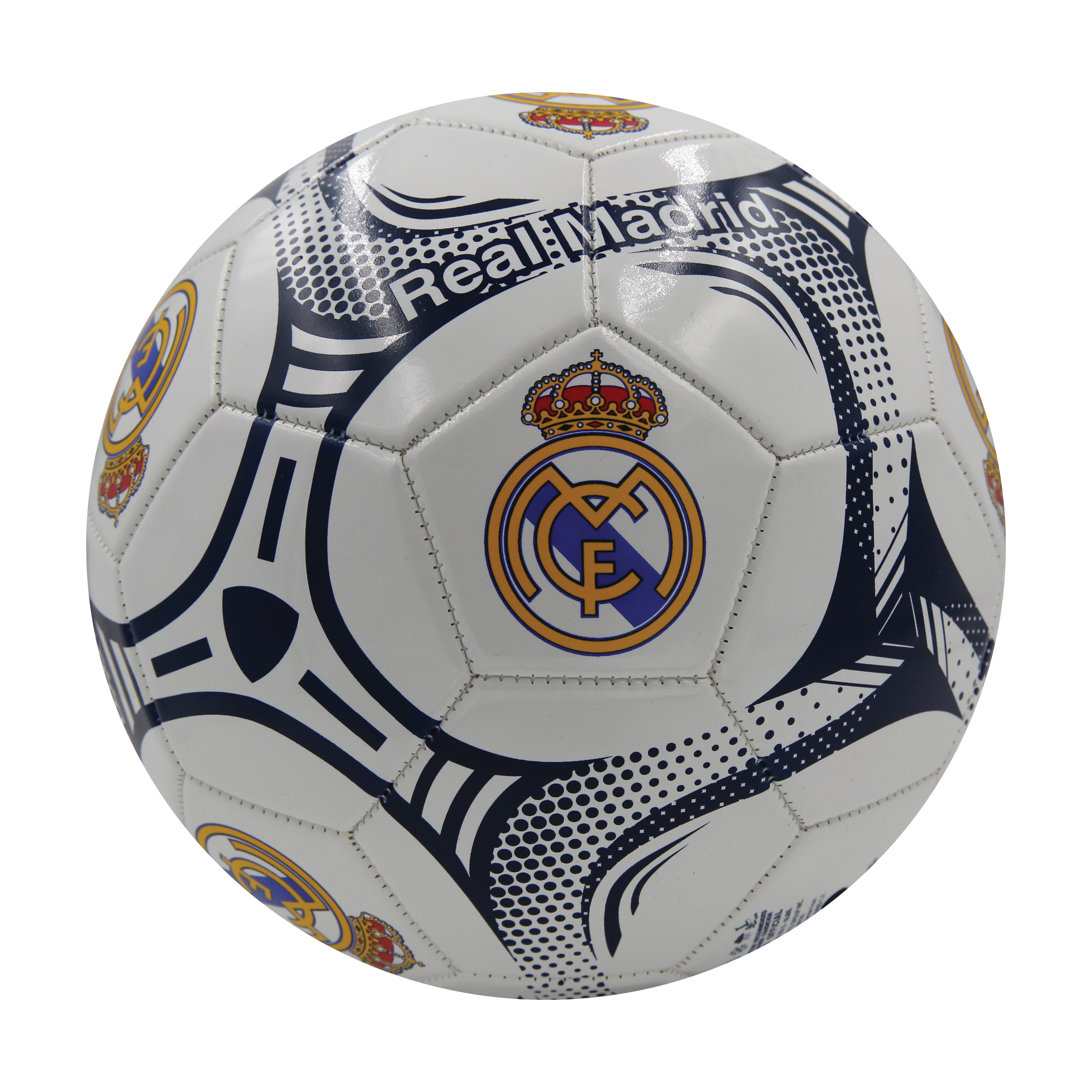 Real Madrid FC Silver #5 Soccer Ball by Icon