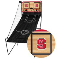 NC State Wolfpack Classic Court Double Shootout Basketball Game - No Size